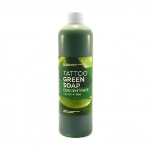 AloeTattoo - Green Soap Concentrate - 500 ml / 16.9 oz