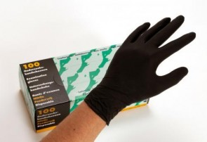 AltairMed - Nitrile Gloves - Black