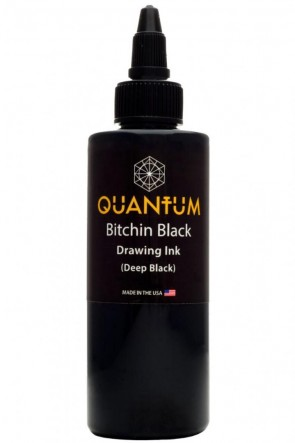 Quantum Drawing Ink - Bitchin Black