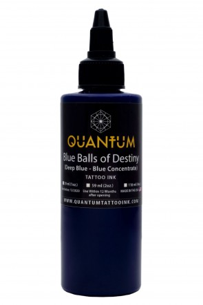 Quantum Ink - Blue Balls of Destiny