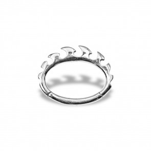 (43) Daith Clicker Sprocket - Stainless Steel - Thickness 1.2 mm / Ø 6 mm