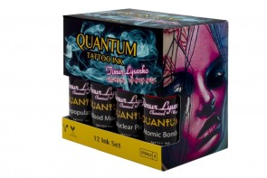 Quantum Ink - Timur Lysenko Chemical Warfare Colour Set - 12 x 30 ml / 1 oz
