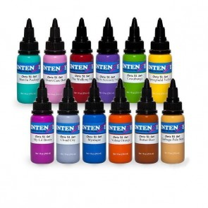 Intenze Ink - Chris 51's Geek Ink Set - 12 x 30 ml / 1 oz