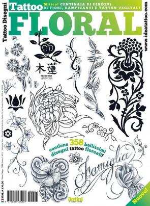 3ntini - Tattoo Flash Drawings ''Floral Tattoo''