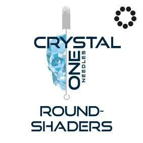 Crystal 1- Needles - Round Shaders - Box of 50