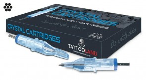 Crystal Cartridges - Power Liners - Box of 10