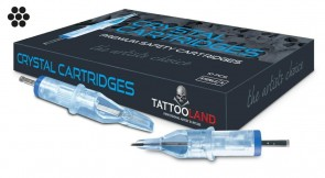 Crystal Cartridges - Round Liners - Box of 10