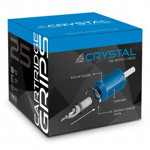 Crystal Disposable Cartridge Grips - 25 mm - Box of 15 - EXP: 11-2021