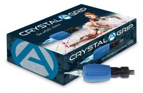 Crystal Disposable Cheyenne Hawk Grips - Adjustable - 30 mm - Box of 10