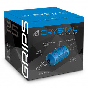 Crystal Grips - 25 mm - Short Expiry 50% Discount - Box of 20