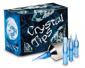 Crystal Short Tips - Flat - Box of 50