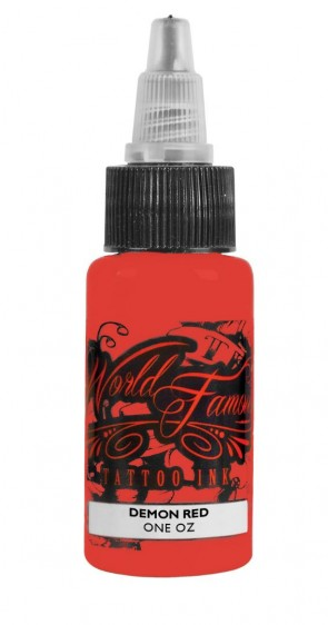 World Famous Ink - Master Mike - Demon Red - 30 ml / 1 oz