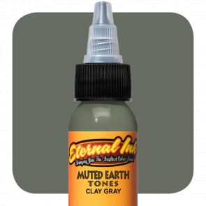 Eternal Ink - Muted Earth Tone - Clay Gray - 30 ml / 1 oz