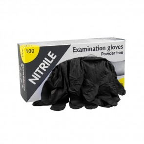 Eurogloves - Nitrile Gloves - Black