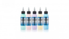 Fusion Ink - Pastel Colour Set - 5 x 30 ml / 1 oz