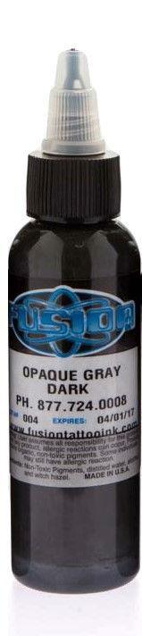 Fusion Ink - Opaque grey - Dark
