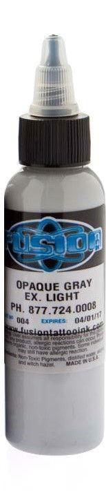 Fusion ink - opaque grey - extgra light