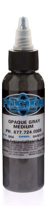 Fusion ink - opaque grey - medium