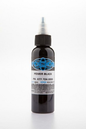 Fusion ink - power black