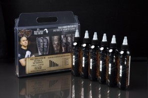 World Famous Ink - Jose Perez Jr Darkwater Shading Set - 6 x 125 ml / 4 oz