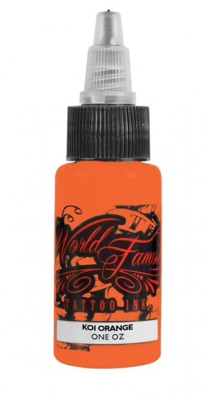 World Famous Ink - Master Mike - Koi Orange - 30 ml / 1 oz