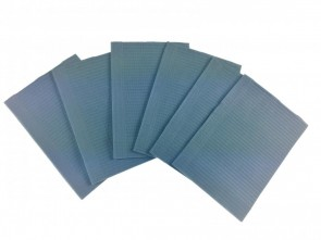 Medicom Dental Bibs - Ocean Blue