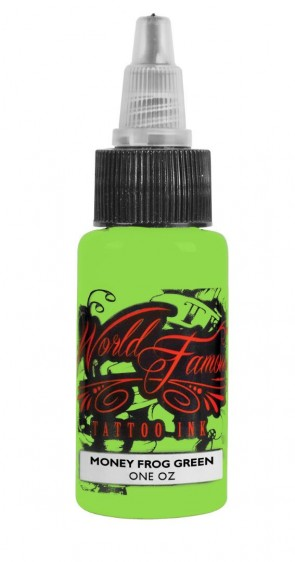 World Famous Ink - Master Mike - Money Frog Green - 30 ml / 1 oz