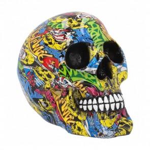 Graffiti Skull - 19 cm
