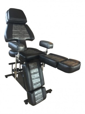 Professional Client Chair - Black & Grey