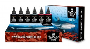Quantum Ink Sea Shepherd Shark Set 1