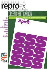 ReproFX Spirit - Green Carbon Hectograph Paper
