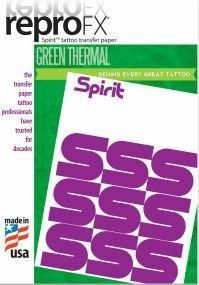 ReproFX Spirit - Green Thermal Transfer Paper
