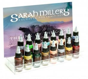 World Famous Ink - Sarah Miller's Valhalla Portrait Set - 16 x 30 ml / 1 oz