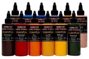 Quantum Ink - Sharuzen Demonic Invocation Colour Set - 12 x 30 ml / 1 oz