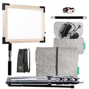 TML - Key Light 2.0 Professional Light Kit - Gold