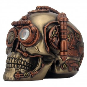 Steam Powered Observation Skull - 16.5 cm