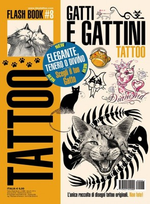 3ntini - Tattoo Flash Drawings ''Gatti & Gattini''