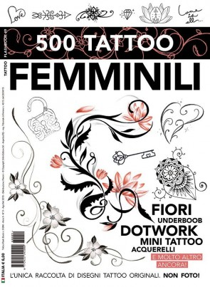 3ntini - Tattoo Flash Drawings ''500 Tattoo Femminili''