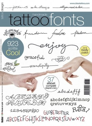 3ntini - Tattoo Flash Drawings ''Tattoo Fonts''
