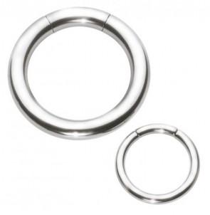 Polished Titanium Segment Ring