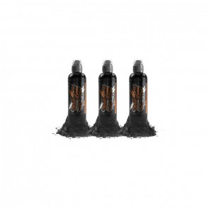 World Famous Ink - Charcoal Greywash Set - 3 x 60 ml / 2 oz