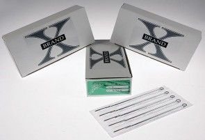 X-Brand Needles - Round Shaders - Box of 50