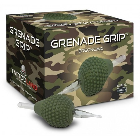 Crystal Grenade Grips - 38 mm - Round Tip - Box of 15