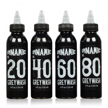 Dynamic - Encre pour Dessiner - Greywash Set - 120 ml / 4 oz