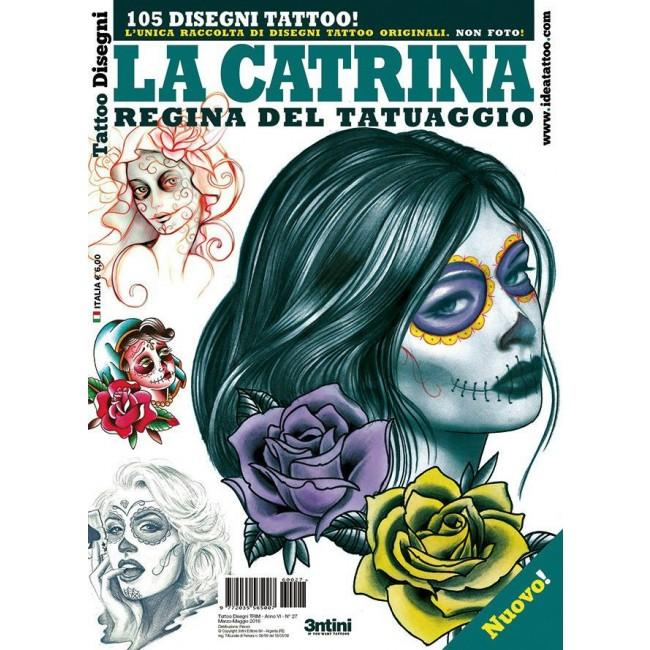 Tattooland 3ntini Tattoo Flash Drawings La Catrina 3ntini