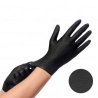 Comforties - Easyglide & Grip - Gants en Nitrile - Noir