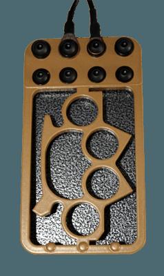 Bavarian Custom Irons - Knuckle Duster - Pédale