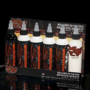 World Famous Ink - Nuno Feio - Slate Pastel Wash - 120 ml / 4 oz