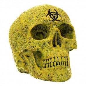 Biohazard Skull - 18 cm