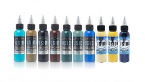 Fusion Ink - Deano Cook - Set Couleur - 10 x 30 ml / 1 oz